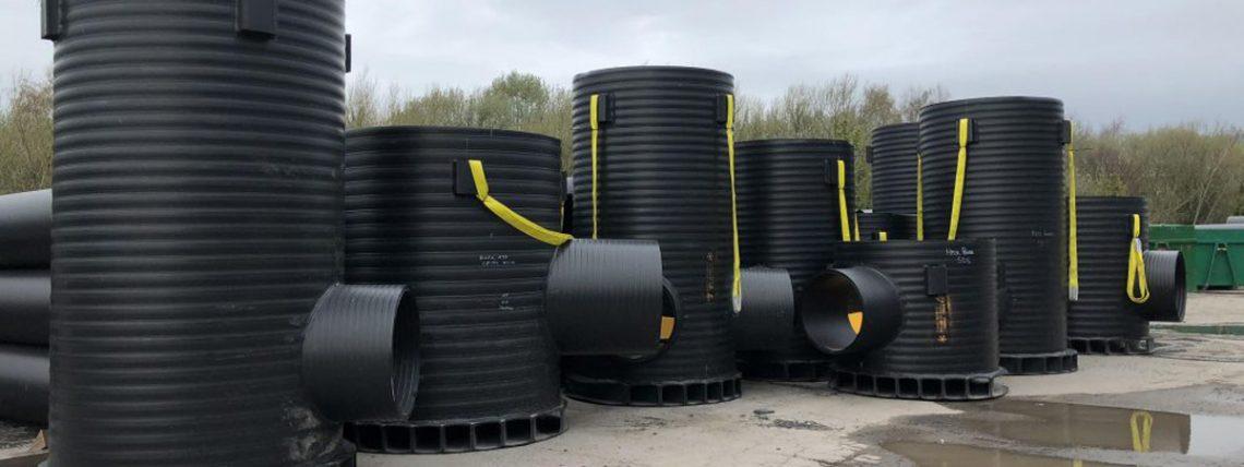 ساخت و فروش انواع منهول پلی اتیلن
