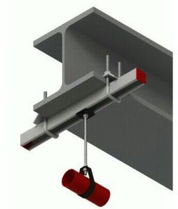 نحوه نصب بست تی روی سقف
